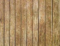 Zbliżenie Stara Brown Background/Pionowo Drewniana tekstura Zdjęcia Royalty Free
