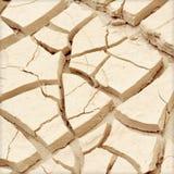 Zbliżenie sucha ziemia Zdjęcie Royalty Free