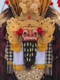 Zbliżenie tradycyjna balijczyka Barong maska w Indonezja Zdjęcia Royalty Free
