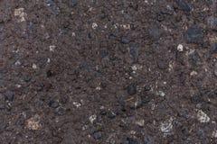 Zbliżenie widoku brudna mokra breja gruntuje z cieczem obraz royalty free