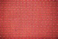 Zbliżenie wzór tajlandzka handmade tkanina Fotografia Stock