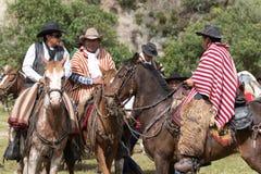 Zbliżenie z lokalnych kowbojów Obrazy Stock