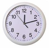 Zbliżenie ścienny zegar Zdjęcie Stock