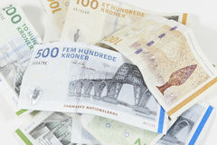 Duńska waluta Fotografia Royalty Free