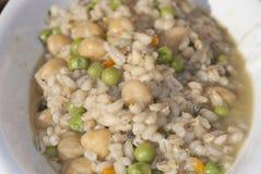 Zboża i legumes zupni Zdjęcie Stock