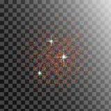 Zbożowa cierpienie tekstura Pył cząsteczki Wektorowe Grunge tło z piaska skutkiem royalty ilustracja
