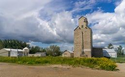 Zbożowa winda, Onoway, Alberta obraz royalty free