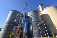 Zbożowej windy kosze w Środkowym Waszyngton Fotografia Royalty Free