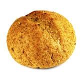 Zbożowy chleb na białym tle Obraz Stock