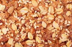 Zbożowy chleba zakończenie up Zdjęcia Stock