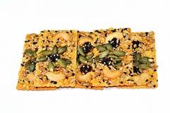 zboży krakersa karmowej adry ryż Zdjęcia Stock