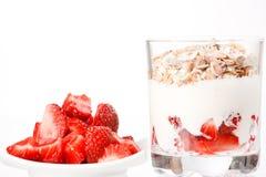 zboże jogurt Obraz Stock