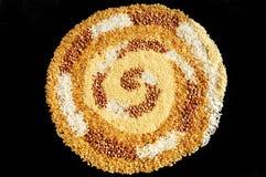 zbożowa spirala Obrazy Stock