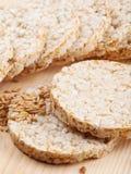 Zbożowy Crispbread krakers Zdjęcie Stock