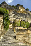 zbocza francuski miasteczko zdjęcia stock