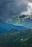 zbocze góra Obrazy Stock