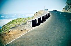 zbocze góry drogą sceniczna Zdjęcie Royalty Free