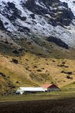 zbocze góry rolnych. Zdjęcia Royalty Free