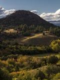 Zbocze warstwy w pogórzach San Juan góry w jesieni, ou Obraz Royalty Free