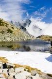Zbojnicke Tarn, Vysoke Tatry & x28;High Tatras& x29;, Slovakia. Outdoor, outdoors, outside, exterior, exteriors, europe, eastern, republic, czechoslovakia royalty free stock images