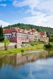 Zbraslav城堡和修道院全国文化地标, Zbraslav,布拉格,捷克 库存图片