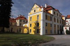 Zbraslav Chateau stockfoto