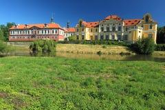 Zbraslav chateau Stock Image