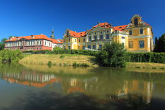 Zbraslav chateau in Prague Royalty Free Stock Photo