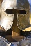 zbroi hełma rycerz s Zdjęcia Royalty Free