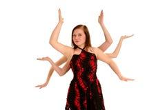 zbroi tancerz meduzę Obrazy Stock