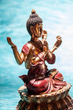 Zbroję Buddha medytować Obrazy Royalty Free