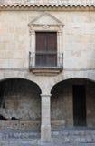 Zbrojownia sąd w Ibiza miasteczku Fotografia Royalty Free