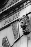 zbudować historyczną policję Zdjęcia Stock