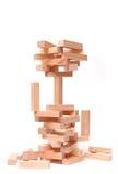 zbudować konceptualny bloków Zdjęcie Stock