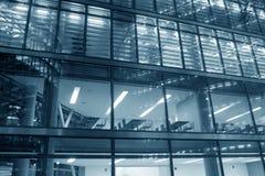 zbudować nowoczesnego urzędu Obraz Stock