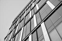 zbudować nowoczesnego urzędu budynek architektury szczegółowo nowoczesnego czarny white Zdjęcie Stock