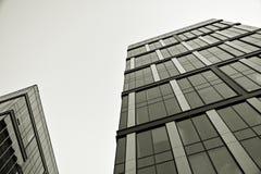 zbudować nowoczesnego urzędu budynek architektury szczegółowo nowoczesnego czarny white Fotografia Stock