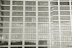 zbudować nowoczesnego urzędu budynek architektury szczegółowo nowoczesnego czarny white Obraz Stock