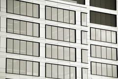 zbudować nowoczesnego urzędu budynek architektury szczegółowo nowoczesnego czarny white Obrazy Stock
