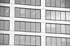 zbudować nowoczesnego urzędu budynek architektury szczegółowo nowoczesnego czarny white Zdjęcia Stock
