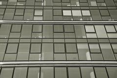 zbudować nowoczesnego urzędu budynek architektury szczegółowo nowoczesnego czarny white Obrazy Royalty Free