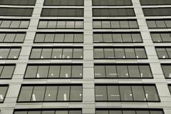 zbudować nowoczesnego urzędu budynek architektury szczegółowo nowoczesnego czarny white Fotografia Royalty Free