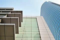 zbudować nowoczesnego urzędu budynek architektury szczegółowo nowoczesnego Zdjęcie Royalty Free