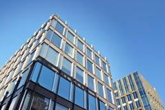 zbudować nowoczesnego urzędu budynek architektury szczegółowo nowoczesnego Fotografia Stock