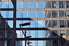 zbudować nowoczesnego urzędu budynek architektury szczegółowo nowoczesnego Zdjęcia Stock