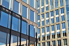 zbudować nowoczesnego urzędu budynek architektury szczegółowo nowoczesnego Fotografia Royalty Free
