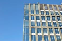 zbudować nowoczesnego urzędu budynek architektury szczegółowo nowoczesnego Obrazy Stock