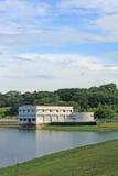 zbudować pompę stacji recyklingu wody Obrazy Royalty Free