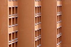 zbudować szczegółów okno Zdjęcia Stock