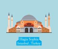 zbudował kościół nawrócił się jako Istanbul meczetowego hagia sophia muzeum teraz indyk Zdjęcie Royalty Free